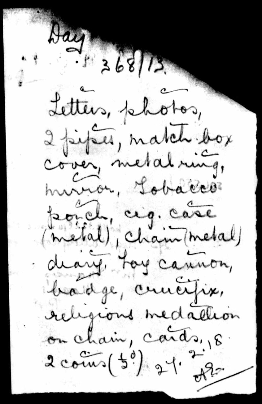 1916-1917 - Day, Walter Sidney - Service Record - MIUK1914H_132377-00477