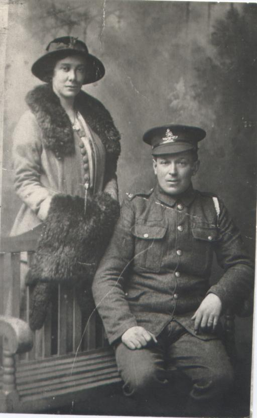 1916-1917 Walter Sidney Day + Franci Emily