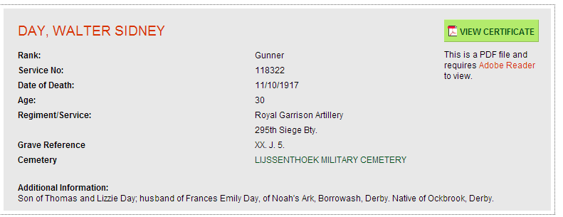 2014 - Day WS - CWGC - Casualty Details (9)