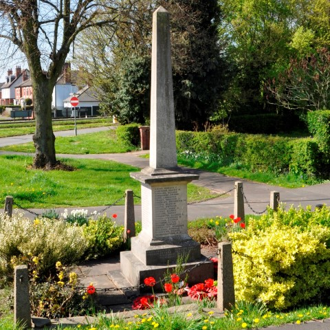 Ockbrook and Borrowash War Memorial, Victoria Road.