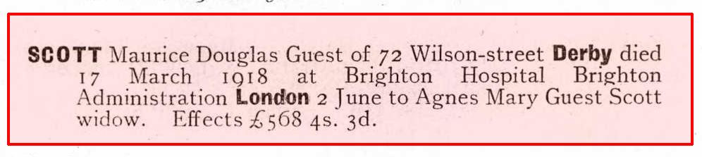 1918-06-02 Guest Scott Probate (detail)