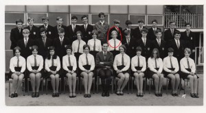 "Spondon  Park Grammar School - ""fifth form""."