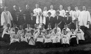 Ockbrook choir 1911-1913.