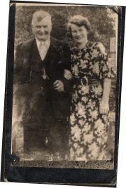 June's grandfather, George Fessey and  her 'mother', Eleanor Stower
