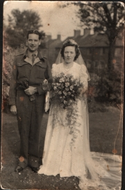 Uncle Albert Fessey and wife Muriel