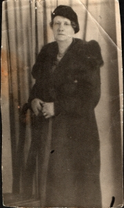 June's grandmother, Minnie Fessey