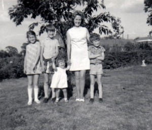 Ann with her children
